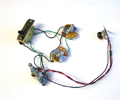 Strat Wiring Harness, 7 Way 250K