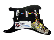 Pro Series Pickguard Texas Blues, Black