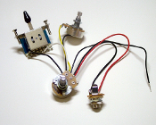 Three Pickup Wiring Harness, 5 Way