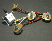 Strat Wiring Harness, 5 Way 250K Blade Switch