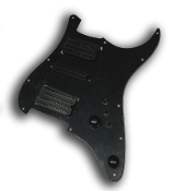 Pro Series HSH Pickguard DFHR, Quad Rails with Mini Switches