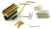 Strat Trem System Wilk 5+1 USA, WV6-SB Black Chrome Gold