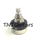Control Pot ~ SMALL Dime Sized Mini Pot, SHORT Shaft Audio Style