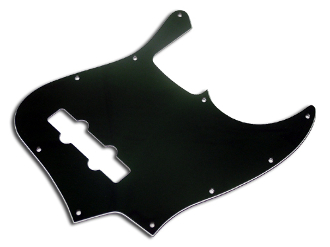 Jazz Bass Pickguard, Black