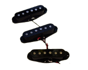 Strat Alnico Pickup Set, Black