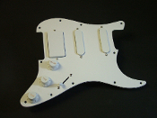 Prewired HSS Strat Pickguard, Pro-Series MeZo Active