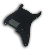 Prewired One Hum Pickguard, Pro-Series Active Bucker