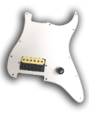 Prewired One Hum Pickguard, Phury Bucker