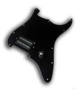 Prewired Strat Pickguard, One Hum Power Rail