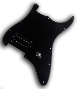 Prewired One Hum Pickguard, Vintage Bucker