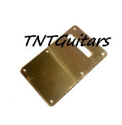 Strat Trem Cover, Gold Mirror