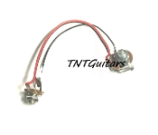 1V One Pickup Wiring Harness ~ Standard PUSH PULL ~ COIL SPLIT