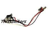1V One Pickup Wiring Harness ~ SEALED Pot ~ 1 Volume Prewired