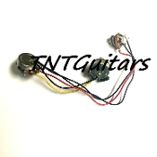 1V1T One Pickup Wiring Harness ~ Standard 1 Vol. 1 Tone Prewired