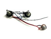 1V1T One Pickup Wiring Harness ~ SEALED 1 Volume 1 Tone Prewired