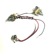 1V1T One Pickup Wiring Harness ~ CTS 1 Volume 1 Tone Prewired