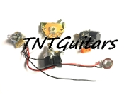 1V2T Prewired Harness, 2 Pickup CTS PUSH-PULL w/ DUAL Coil Split