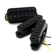 Crusaders HSS Set, 7 string, humbucker-Single-single adjustable hex caps