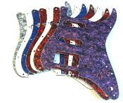 HSS Pickguard, Strat Replacement SSH Guard, Choice of Colors
