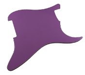 Blank Strat Pickguard, Purple