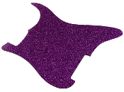 Blank Strat Pickguard, Create Your Own Stratocaster Guard Replacement, Choice of Colors, Controls & Other Options, Fender Replacement, Beveled Edge, Right or Left-Handed, Transparent / Translucent Nova Pink Purple