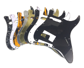 HS Humbucker Single Pickguard, Angled Humbucker SH Guard, Sale Color Choice