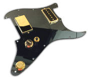 Prewired Strat PG HH Scream 90s, Choice of Colors